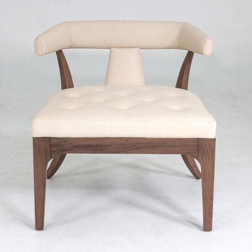 Moderno Natural Walnut Chair