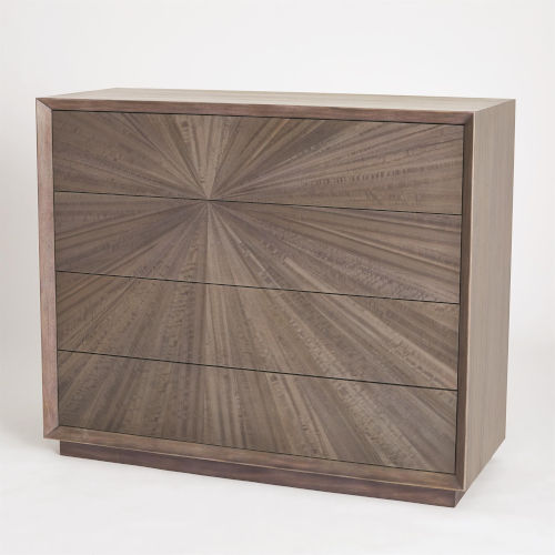 Studio A Home Gray Eucalyptus Burst Dresser