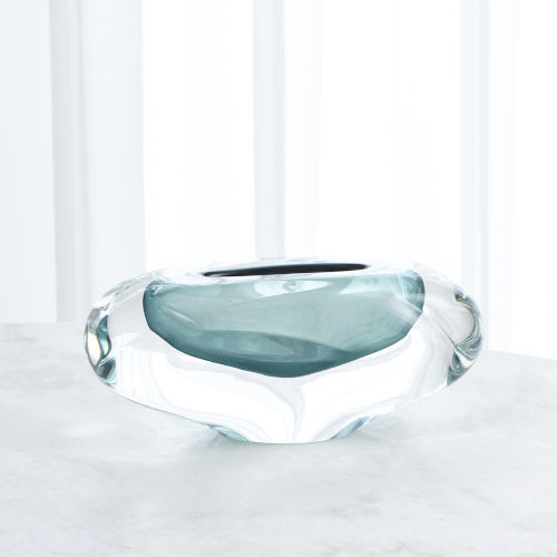 Studio A Home Azure Large Abstract Bean Vase