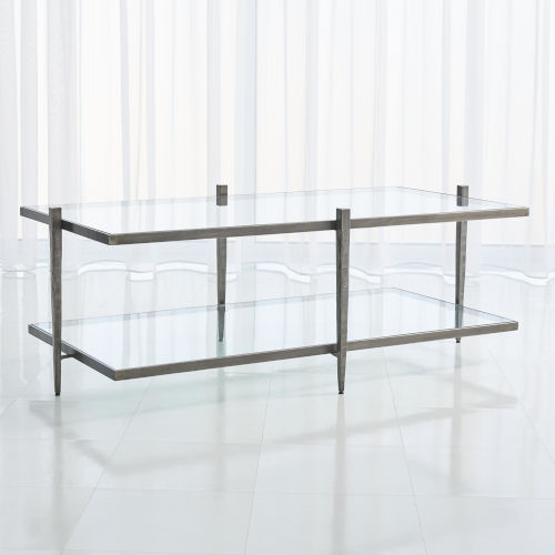 Laforge Natural Iron 26-Inch Cocktail Table