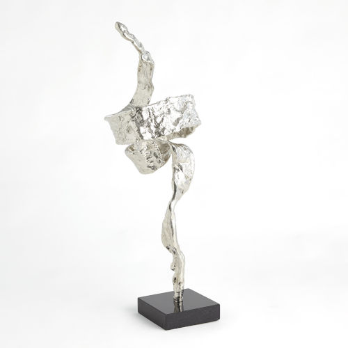 Nickel Twist Sculpture