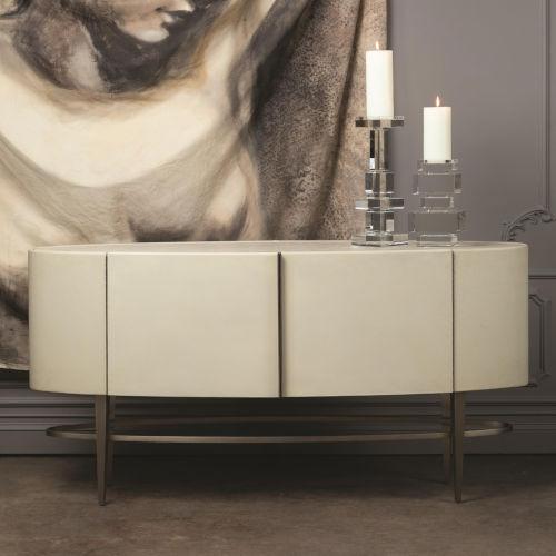 Ellipse Ivory Sideboard