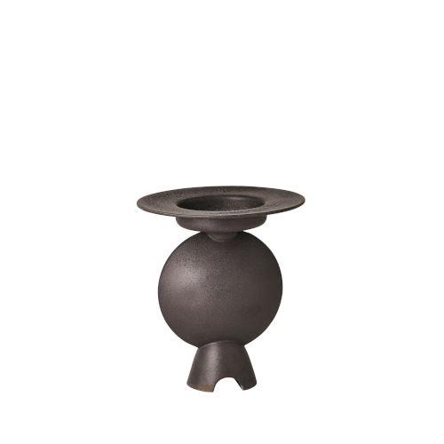 Studio A Home Black Camille Geometric Vase