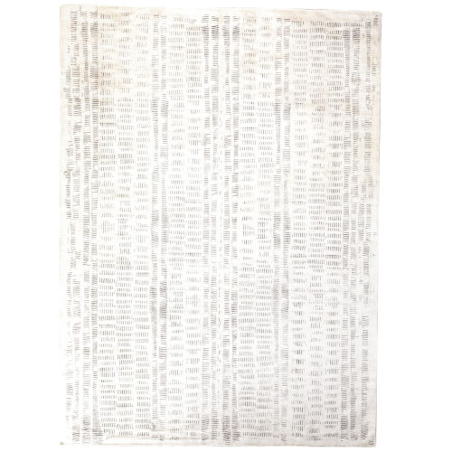 Studio A Home White and Gray Rectangular: 8 Ft. x 10 Ft. Rug