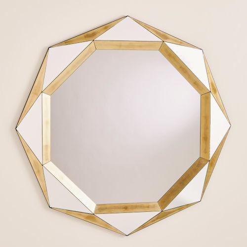 Madeleine Gold Leaf Mirror