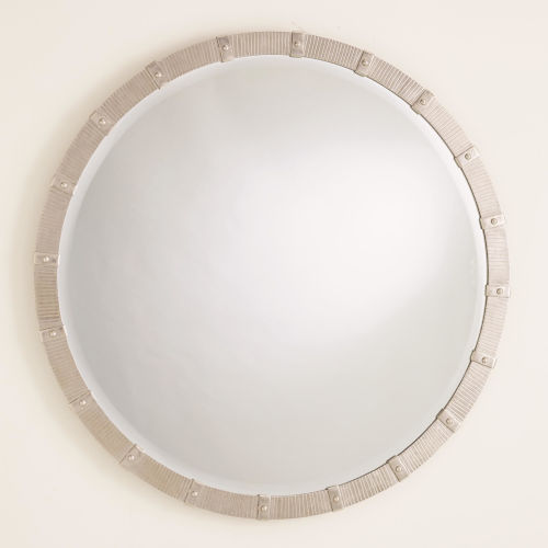 Galleon Nickel 30-Inch Mirror