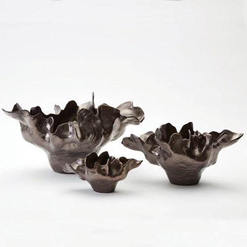 Meteor Large Bronze Bowl
