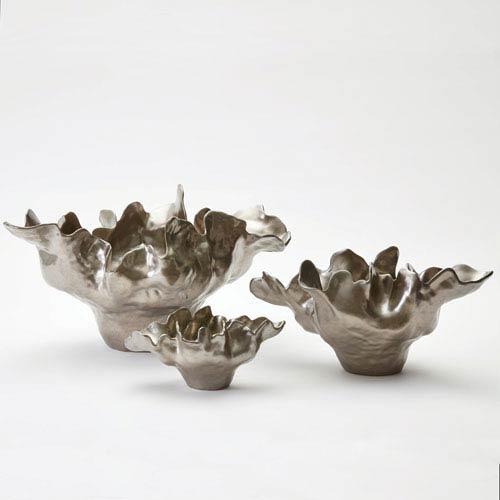 Meteor Medium Silver Haze Bowl