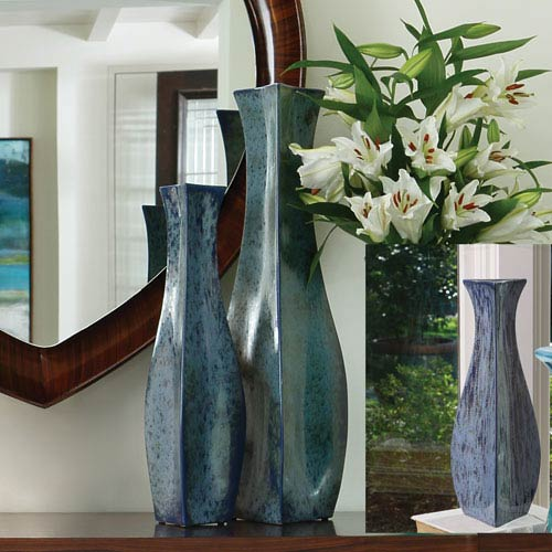 Global Views Bermuda Blue Small Vase