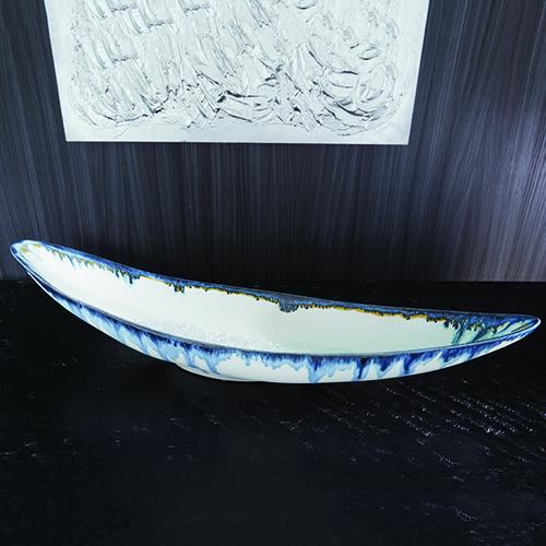 Canoe Glass Drip Bowl
