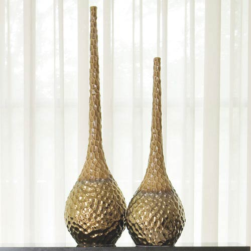 Bronze Global Views Vases Free Shipping Bellacor