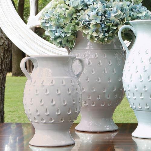 Raindrop Grey Large Vase