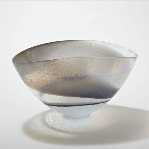 Moon Stone Oval Large Bowl