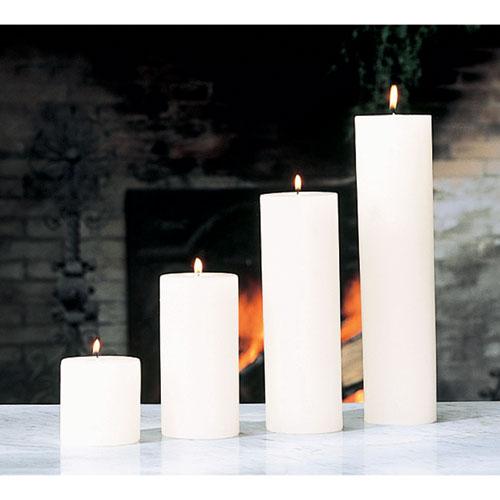 Global Views Unscented Pillar Candle - 4 x 8
