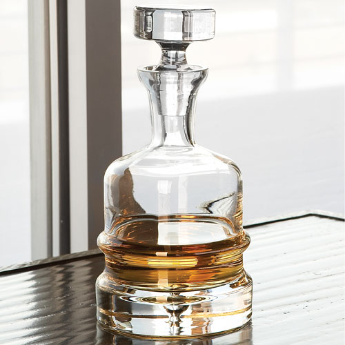 Clear Traditional Decanter