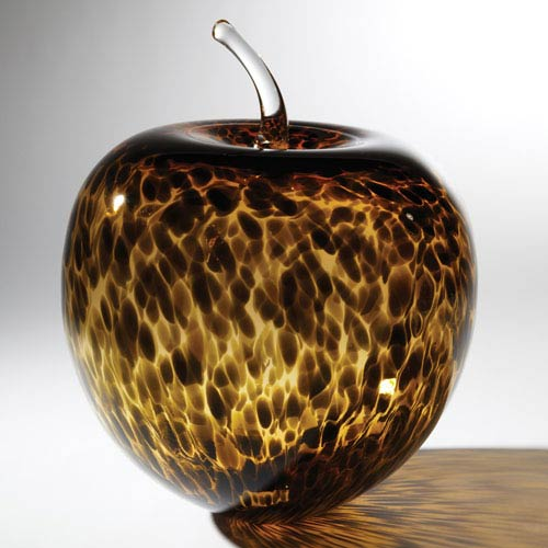 Global Views Tortoise Glass Apple
