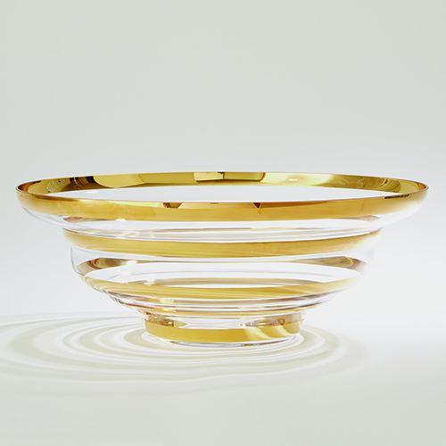 Saturn Gold Bowl