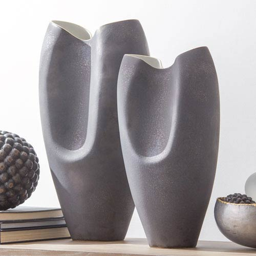 Studio A Large Oxus Pinched Vase
