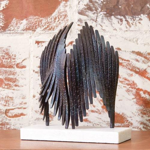 Studio A Icarus Torched Sculpture