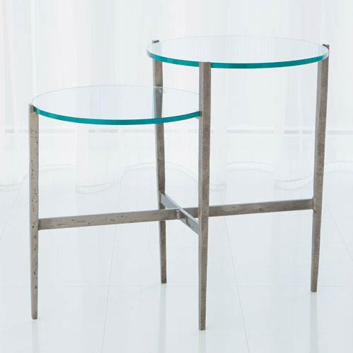 Global Views Studio A Dante Natural Iron Table