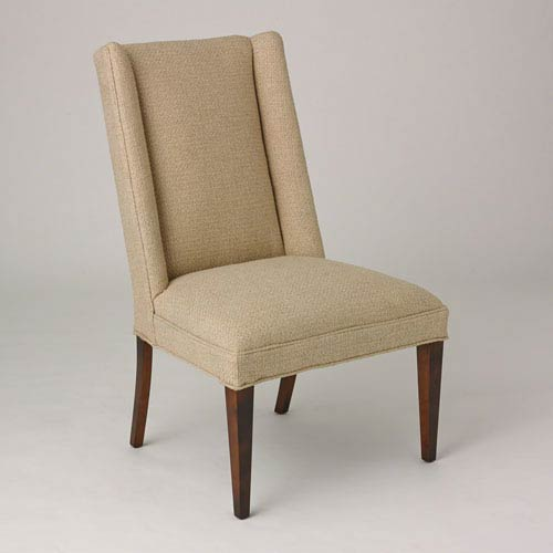 Studio A Straight Wing Protege Grid Natural Side Chair