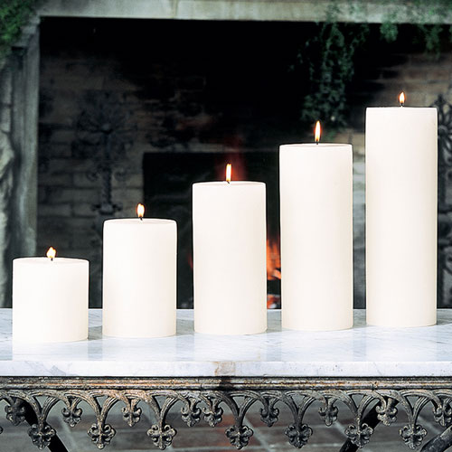 Global Views Unscented Pillar Candle 4 x 10