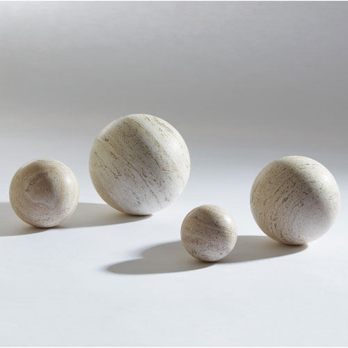 Travertine 4-Inch Sphere