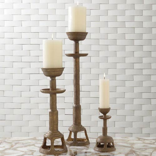 Studio A Temple Large Candlestick