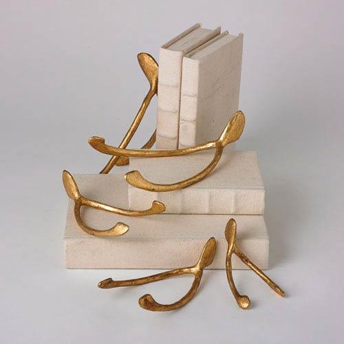 Studio A Wish Medium Gold Leaf Paperweight