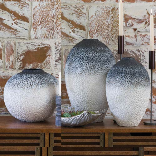Global Views Studio A Celestial Medium Ombre Vase