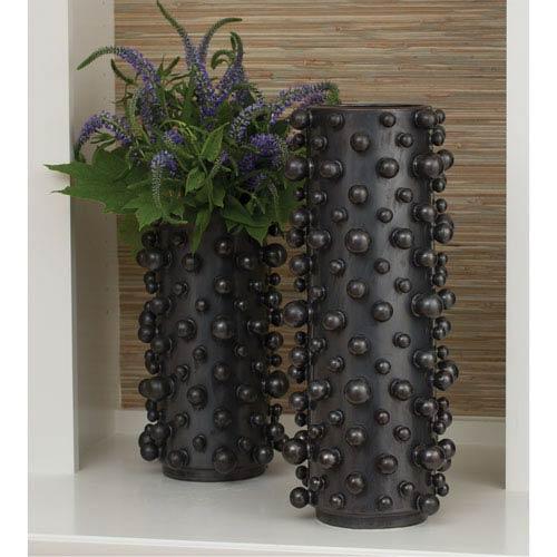 Studio A Molecule Graphite Large Vase
