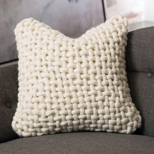 Global Views Studio A Noodle Felt Bone Pillow