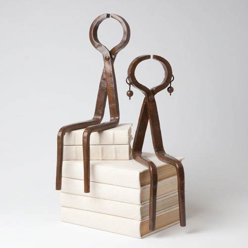 Studio A Iron Sitting Couple