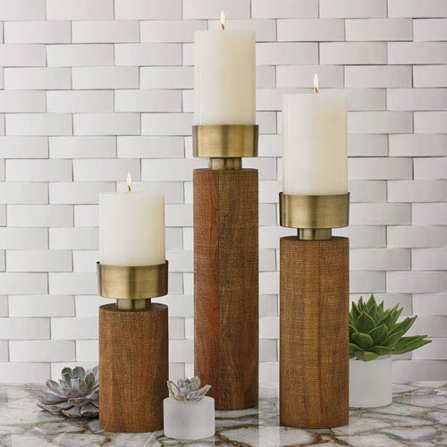 Global Views Studio A Larson Medium Candleholder