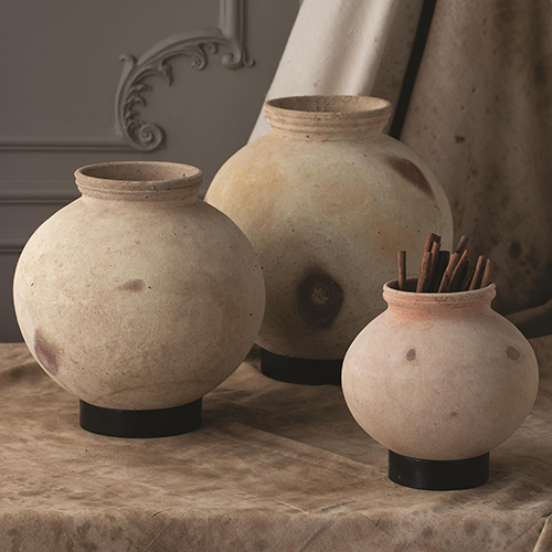 Studio A Extra Large Desert Water Pot with Iron Base