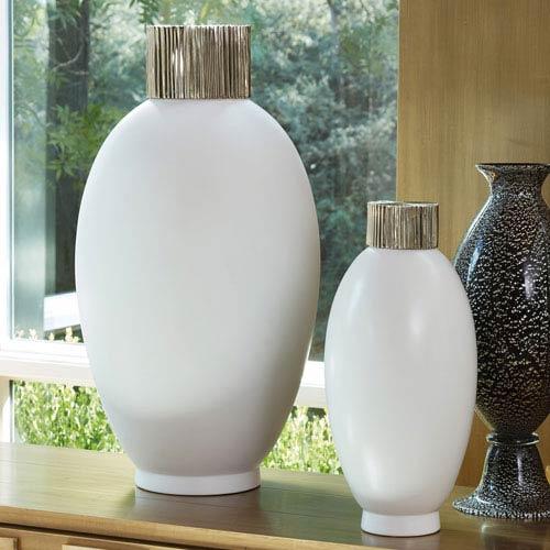 Global Views Blanc De Chine Large Jar