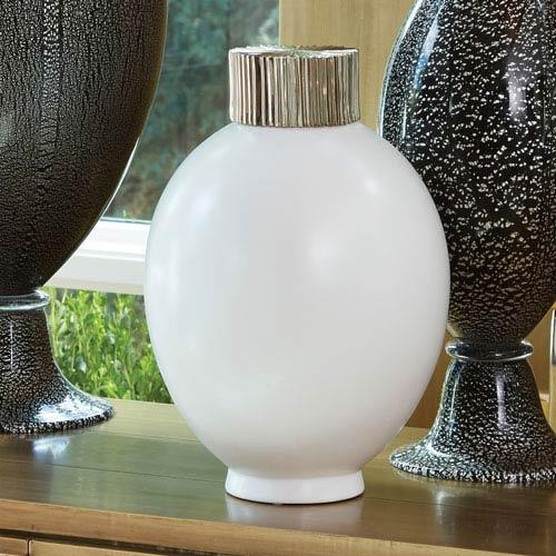 Global Views Blanc De Chine Small Jar