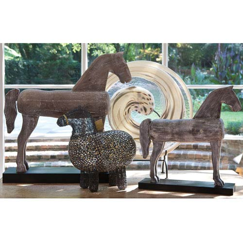 Folk Art Large Horse