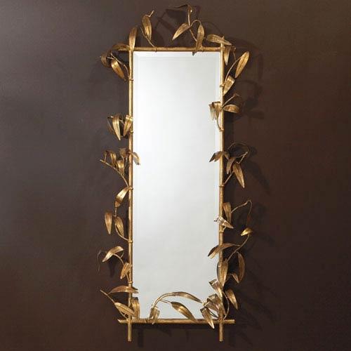 Bamboo Gold Mirror
