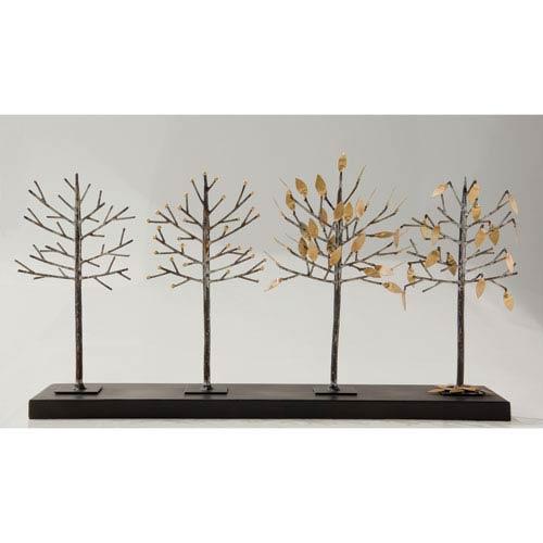 Global Views Four-Seasons Tree Sculpture