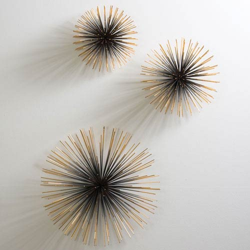 Boom Brass Medium Wall Sculpture