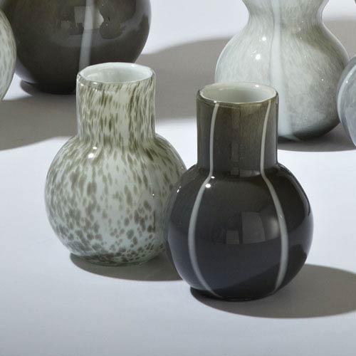 One Bubble Dark Gray Vase