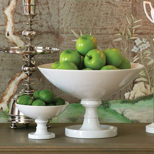 White Grand Pedestal Bowl Only