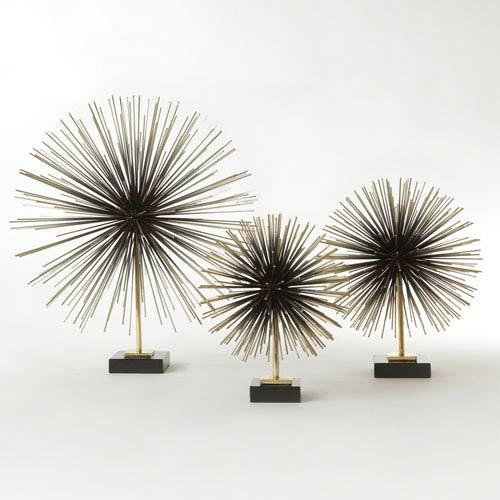Global Views Boom Brass Large Tabletop Sculpture