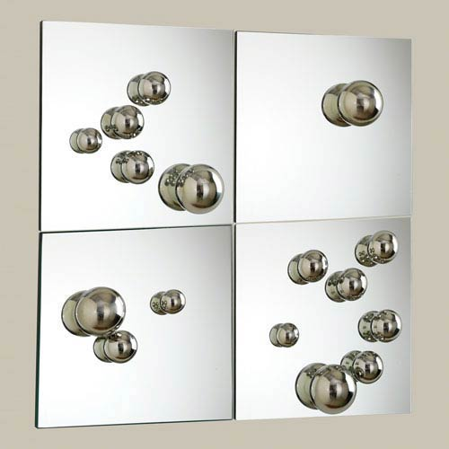 Sphere Mirrors, Set of Four