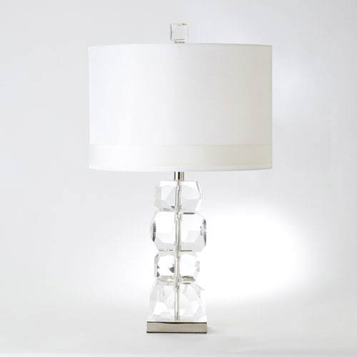 Stacked Gemstone Short One-Light Lamp