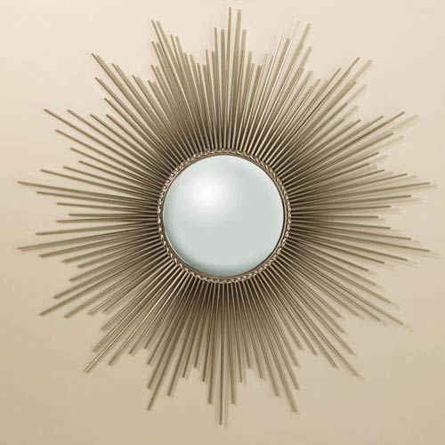 Sunburst Nickel Mirror