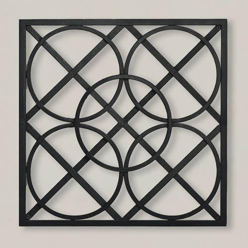 Layered Circles Wall Panel