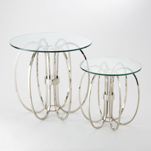 Global Views Oval Ring Small Table