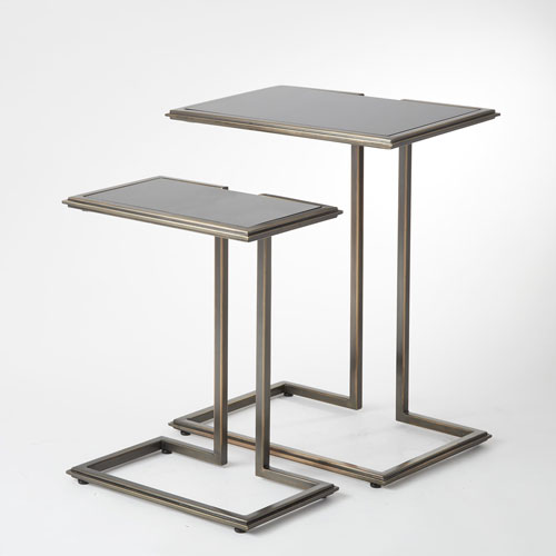 Global Views Cozy Up Bronze Large Table